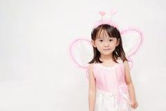 Piccola ragazza asiatica fotografie stock libere da diritti