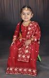 Piccola ragazza del punjabi Fotografia Stock Libera da Diritti