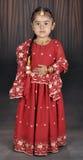 Piccola ragazza del punjabi Fotografie Stock Libere da Diritti