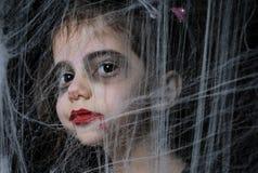 Piccola ragazza del vampiro Immagini Stock Libere da Diritti