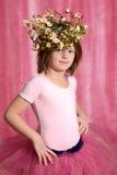 Piccola ragazza della ballerina Fotografia Stock Libera da Diritti