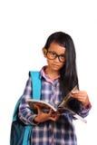 Piccola ragazza dello studente Immagine Stock
