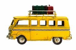 Piccola retro automobile Fotografia Stock