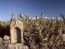 Piccola rovina del santuario del granito Fotografia Stock Libera da Diritti