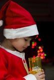 Piccola Santa Fotografie Stock Libere da Diritti