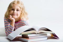 Piccola scolara Immagini Stock Libere da Diritti