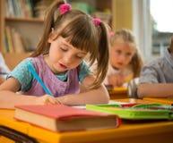 Piccola scolara Fotografia Stock Libera da Diritti
