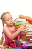 Piccola scolara Fotografia Stock