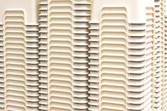 Piccola sedia di plastica Fotografia Stock