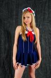 Piccola sig.na Sailor Fotografia Stock Libera da Diritti