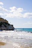 Piccola spiaggia Immagine Stock