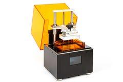 Piccola stampante della casa 3D Fotografia Stock