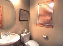 Piccola stanza da bagno Fotografia Stock Libera da Diritti