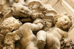 Piccola statua di angeli Fotografia Stock Libera da Diritti