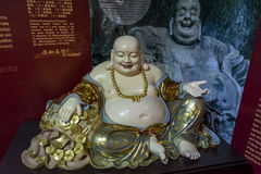 Piccola statua di Buddha Immagine Stock Libera da Diritti