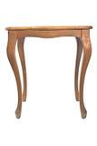 Piccola tavola di legno dura d'annata Fotografia Stock Libera da Diritti