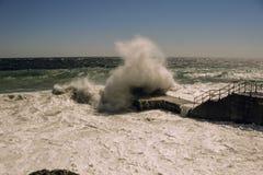 Piccola tempesta di mattina Fotografia Stock Libera da Diritti