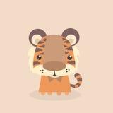 Piccola tigre sveglia Immagini Stock