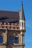 Piccola torre d'angolo - dettaglio architettonico Immagini Stock Libere da Diritti