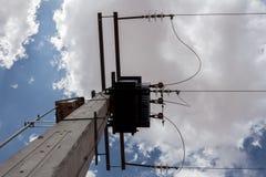 Piccola torre elettrica Fotografia Stock Libera da Diritti