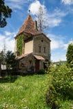 Piccola torre in Sighisoara Immagine Stock