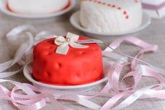 Piccola torta Fotografia Stock Libera da Diritti