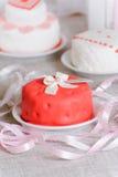 Piccola torta Fotografie Stock