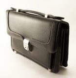 Piccola valigia nera Fotografia Stock Libera da Diritti
