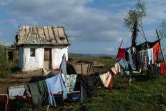 Piccola vecchia casa fotografia stock libera da diritti
