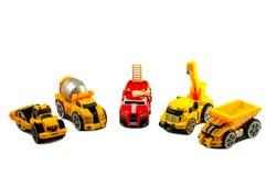 Piccole automobili del giocattolo Fotografia Stock
