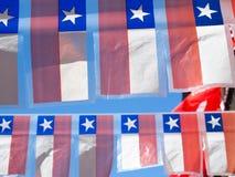 Piccole bandiere ornamentali. Immagine Stock