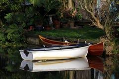 Piccole barche Immagine Stock