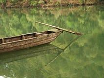 Piccole barche di legno Immagini Stock