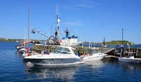 Piccole barche ed imbarcazioni da diporto Immagine Stock Libera da Diritti