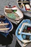 Piccole barche su acqua Immagini Stock Libere da Diritti