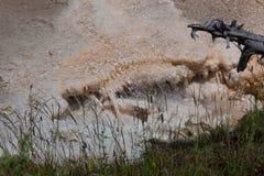 Piccole cadute dell'acqua calda Immagine Stock Libera da Diritti