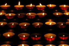 Piccole candele Fotografia Stock