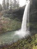 Piccole cascate al parco di stato dentro O fotografia stock libera da diritti