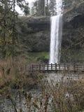 Piccole cascate al parco di stato dentro O immagini stock libere da diritti