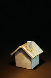 Piccole caselle sul pendio di collina fotografie stock libere da diritti