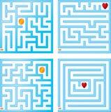 Piccole collezioni del labirinto Immagine Stock