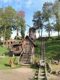 Piccole costruzioni di legno Immagini Stock