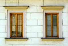 Piccole finestre a Praga Immagini Stock