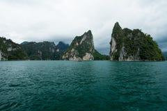 Piccole isole sull'oceano Immagini Stock