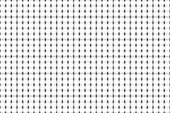 Piccole linee monocromatiche modello geometrico Bande in bianco e nero Fotografia Stock Libera da Diritti