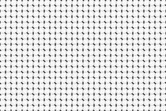 Piccole linee monocromatiche modello geometrico Bande in bianco e nero Fotografie Stock Libere da Diritti
