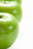 Piccole mele verdi Immagine Stock Libera da Diritti