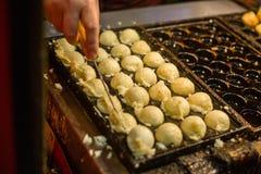Piccole palle del polipo Fotografie Stock Libere da Diritti