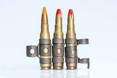 Piccole pallottole del fucile della maglia Immagini Stock
