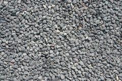 Piccole pietre grige Fotografie Stock